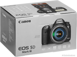 Canon EOS 5D Mark III EF 24-105mm f / 4 Es el kit con objetivo
